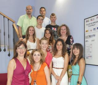 Alumnos de 4º de la ESO muestran sus propuestas de empresas