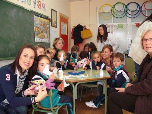 TALLER DE MÁSCARAS 1º INFANTIL